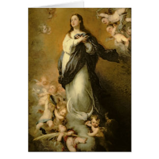 The Immaculate Conception Greeting Card