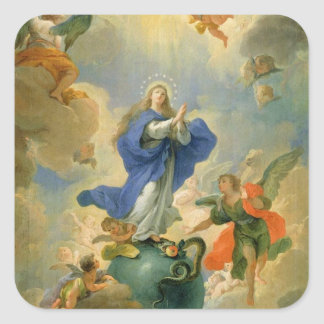 The Immaculate Conception Square Sticker
