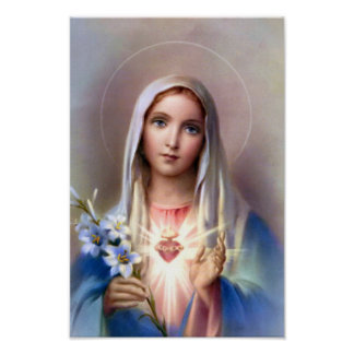 The Immaculate Heart of Mary poster