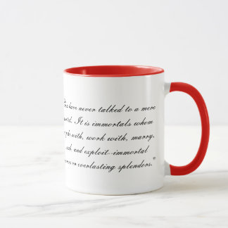 The Immortal C.S. Lewis Mug