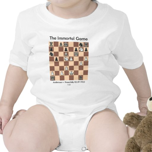 The immortal game infant tshirt zazzle for Game t shirts uk