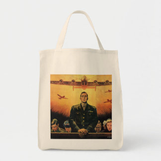 The Immortal Harpy Grocery Tote Bag