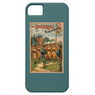 The Imperial Burlesquers Female Soldiers Play Barely There iPhone 5 Case