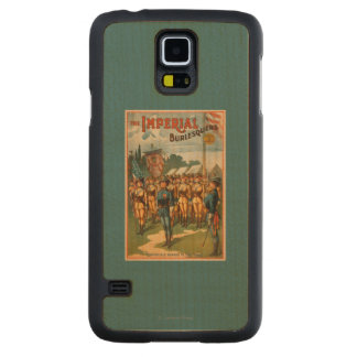 The Imperial Burlesquers Female Soldiers Play Carved Maple Galaxy S5 Case