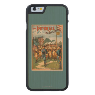 The Imperial Burlesquers Female Soldiers Play Carved Maple iPhone 6 Case