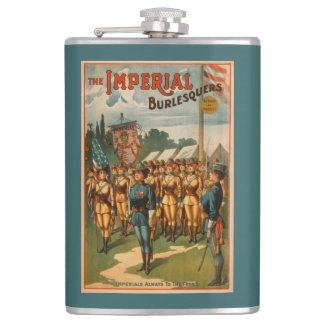 The Imperial Burlesquers Female Soldiers Play Flask