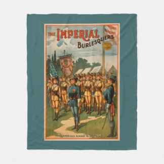The Imperial Burlesquers Female Soldiers Play Fleece Blanket