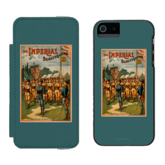 The Imperial Burlesquers Female Soldiers Play Incipio Watson™ iPhone 5 Wallet Case