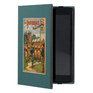 The Imperial Burlesquers Female Soldiers Play iPad Mini Case
