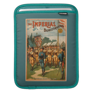 The Imperial Burlesquers Female Soldiers Play iPad Sleeve