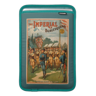 The Imperial Burlesquers Female Soldiers Play MacBook Sleeve