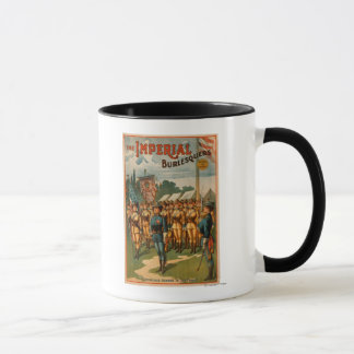 The Imperial Burlesquers Female Soldiers Play Mug