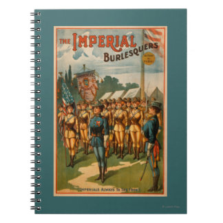 The Imperial Burlesquers Female Soldiers Play Notebook