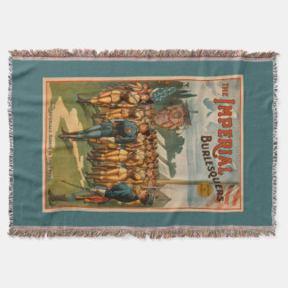 The Imperial Burlesquers Female Soldiers Play Throw Blanket