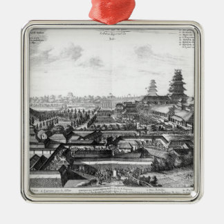 The Imperial Palace in Ido, Japan Christmas Ornament