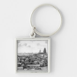 The Imperial Palace in Ido, Japan Key Ring