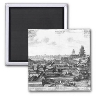The Imperial Palace in Ido, Japan Magnet