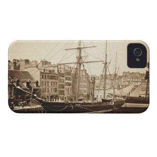 The Imperial Yacht 'La Reine Hortense' at Le Havre iPhone 4 Case-Mate Case