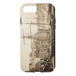 The Imperial Yacht 'La Reine Hortense' at Le Havre iPhone 8/7 Case