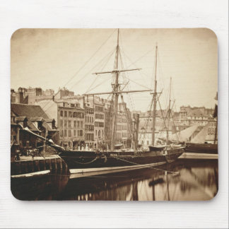 The Imperial Yacht 'La Reine Hortense' at Le Havre Mouse Mat