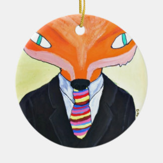 The Importance of Mr Fox - by PaperTrees Christmas Ornament