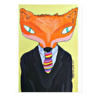 The Importance of Mr Fox - by PaperTrees Postcard