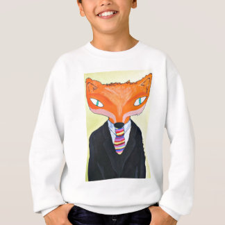 The Importance of Mr Fox - by PaperTrees Sweatshirt