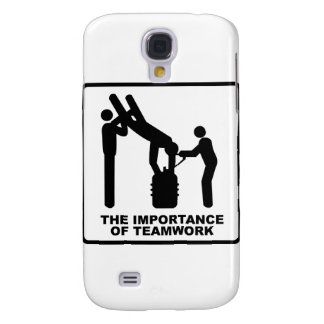 The Importance Of Teamwork Samsung Galaxy S4 Cover