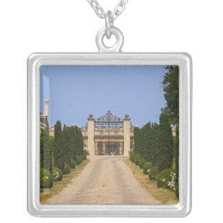 The imposing entrance to Chateau Haut Sarpe, the Silver Plated Necklace