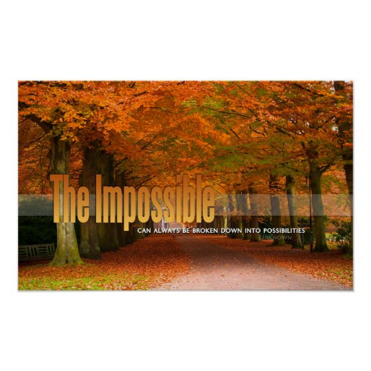 The Impossible Motivational Poster