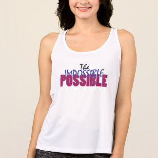 The Impossible Possible Christian Workout Tank