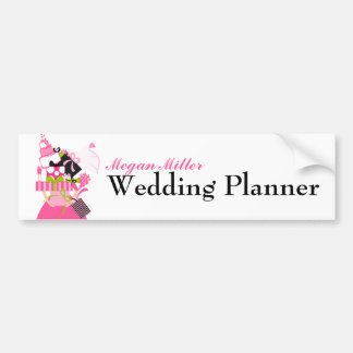 The Impossible Wedding Stack Bumper Sticker