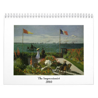 The Impressionist 2010 Wall Calendars