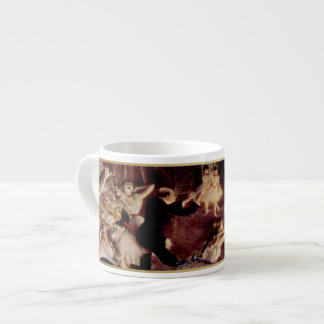"""The Impressionist Collection""-Degas ""Rehearsal"" 2 6 Oz Ceramic Espresso Cup"