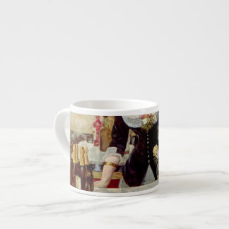 """The Impressionist Collection"" - Manet ""Bergère"" Espresso Mug"