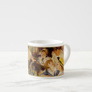 """The Impressionist Collection""-Renoir ""Luncheon"" 2 Espresso Mug"