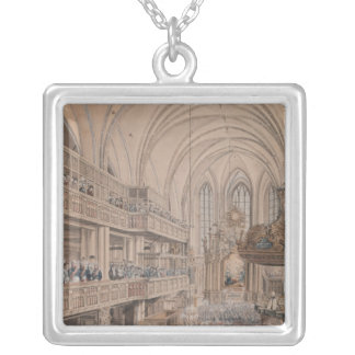 The inauguration of the city councillors silver plated necklace