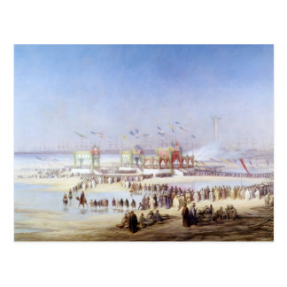 The Inauguration of the Suez Canal Postcard