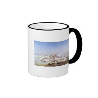 The Inauguration of the Suez Canal Ringer Mug