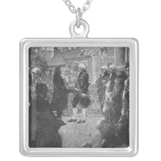 The Inauguration Silver Plated Necklace