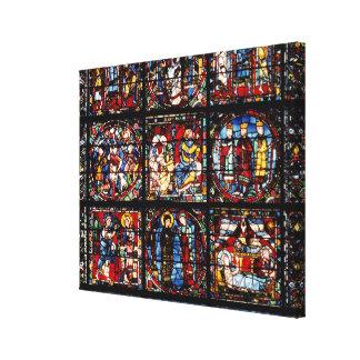 The Incarnation Window Canvas Print