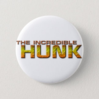 The Incredible Hunk 6 Cm Round Badge