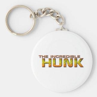 The Incredible Hunk Key Ring