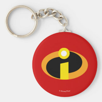 The Incredibles Logo Key Ring