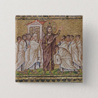 The Incredulity of St. Thomas 15 Cm Square Badge