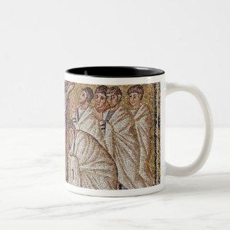The Incredulity of St. Thomas Two-Tone Coffee Mug