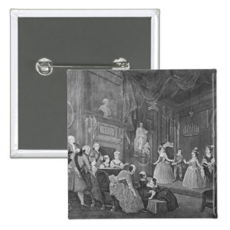 The Indian Emperor, engraved by Robert Dodd 15 Cm Square Badge
