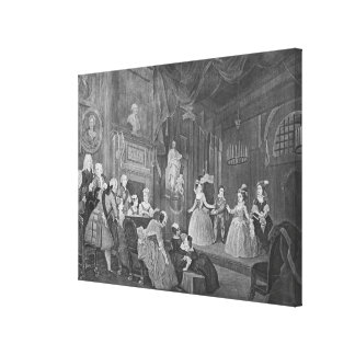 The Indian Emperor, engraved by Robert Dodd Canvas Print
