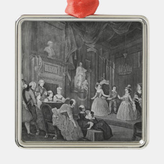 The Indian Emperor, engraved by Robert Dodd Christmas Ornament