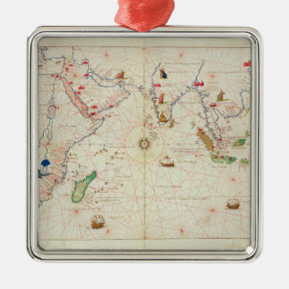 The Indian Ocean Christmas Ornament